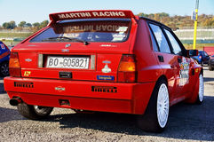 Lancia Denta Integrale Royalty Free Stock Image