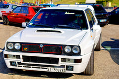 Lancia Denta Integrale Royalty Free Stock Images