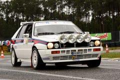 Lancia-Dreieck während der Sammlung Verde Pino 201 Stockbild