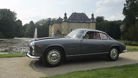 Lancia Flaminia 3C Sport Zagato. 1962 Lancia Flaminia 3C Sport Zagato in front of Schloss Dyck during the 2014 Classic Days event