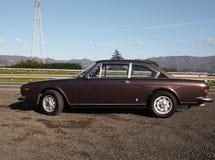 Lancia Flavia 2000 coupe 1974, classic car Stock Photography