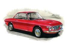Lancia Fulvia illustration de vecteur