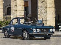 Lancia fulvia coupe vintage Stock Photography