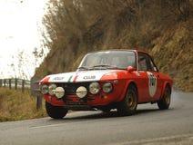 Lancia Fulvia HF 1.6 Verzameling stock fotografie
