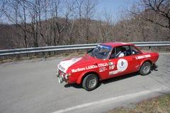 Lancia Fulvia HF 1600 Στοκ φωτογραφία με δικαίωμα ελεύθερης χρήσης