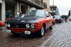 Lancia Fulvia HF Stock Images