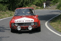 Lancia Fulvia 1600 hf samlar bilen Arkivbild