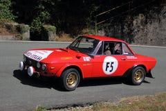 Lancia Fulvia Hf Royalty Free Stock Image