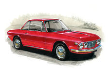 Lancia Fulvia Royalty Free Stock Images