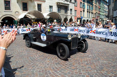 Lancia Lambda at Mille Miglia 2016 Royalty Free Stock Photos