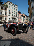 Lancia Lambda Spyder på Mille Miglia 2015 Arkivbilder