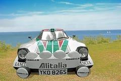 Lancia racing car Royalty Free Stock Images