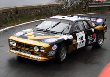 LANCIA rally 037 rally car Royalty Free Stock Photos
