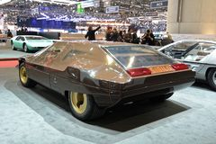88th Geneva International Motor Show 2018 - Bertone Lancia Sibilo royalty free stock image