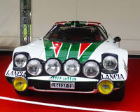 Lancia Stratos Royalty Free Stock Photo