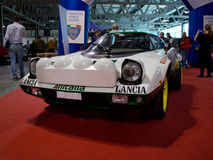 Lancia Stratos Milano Autoclassica 2014 stock photos
