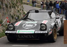 Lancia Stratos rally car Royalty Free Stock Images