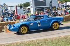 Lancia Stratos wiecu samochód Obraz Stock