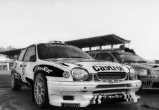 LANCIA wiec 037 1985 w starym bieżnego samochodu wiecu legenda 2017 Obraz Royalty Free