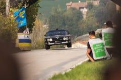 LANCIA wiecu 037 bieżnego samochodu stary wiec Fotografia Stock