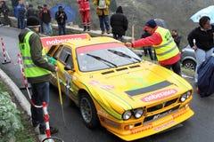 LANCIA wiecu 037 zlotny samochód Obraz Royalty Free