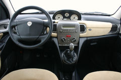 Lancia Y (ypsilon) interior Royalty Free Stock Photography