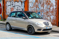 Lancia Ypsilon Photographie stock