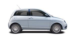 Lancia Ypsilon isolated on white Stock Photo