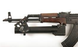 Lanciagranate del AK47 Fotografie Stock Libere da Diritti