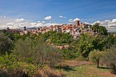 Lanciano, Chieti, Abruzzo, Italien: Landschaft der alten Stadt lizenzfreies stockfoto
