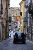 Lanciano city - street view Royalty Free Stock Images