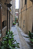 Lanciano cityview. This is a view of italian city called Lanciano, where according to the Catholic Church in the eighth century saw the first confirmed royalty free stock photo