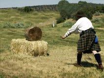 Lanciatore della lama Immagini Stock Libere da Diritti