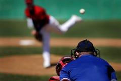 Lanciatore di baseball Immagine Stock Libera da Diritti
