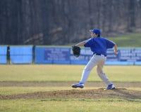 Lanciatore di baseball Fotografia Stock