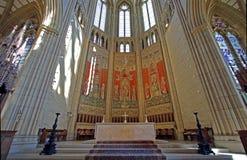 Lancing教堂,西萨塞克斯郡,英国,英国 库存照片