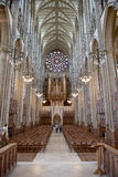 Lancing chapel, Lancing college, West Sussex, England, the large Stock Images