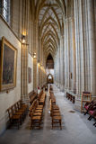 Lancing chapel, Lancing college, West Sussex, England, the large Royalty Free Stock Photo
