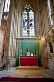 Lancing Kapelle, Lancing College, West-Sussex, England, das große Stockfoto