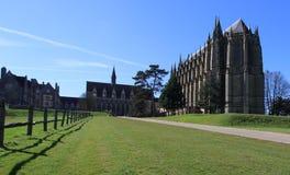 Lancing szkoła wyższa, Zachodni Sussex, Anglia, UK zdjęcia royalty free