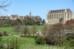 Free LANCING WEST SUSSEX/UK - APRIL 20 : View Of Lancing College Chap Stock Photography - 115012362