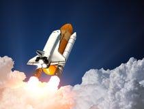 Lancio della navetta spaziale 3d Fotografia Stock Libera da Diritti