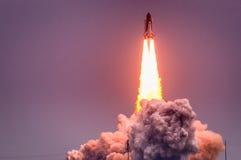 Lancio di Atlantis-STS-135 Fotografie Stock Libere da Diritti