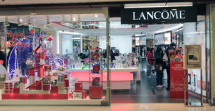 Lancome shop in Hong Kong Stock Photos