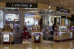 Lancome shop in Siam Paragon Mall. Bangkok, Thailand Stock Images