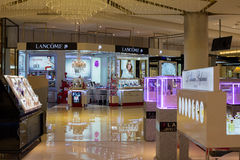 Lancome shop in Siam Paragon Mall. Bangkok, Thailand Stock Photo