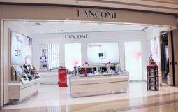 Lancome sklep w Hong kong Fotografia Stock