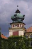 Lancut城堡塔  库存图片