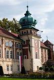 Lancut Castle η κατοικία των οικογενειών Pilecki, Lubomirski και Potocki στοκ εικόνες