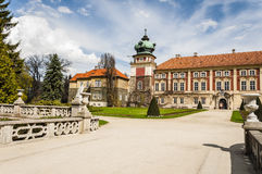 Lancut Castle the residence of the Pilecki, Lubomirski and Potoc royalty free stock images